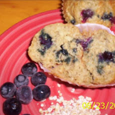 Oatmeal - Blueberry Muffins