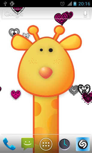 Giraffe Live Wallpaper Pro THD