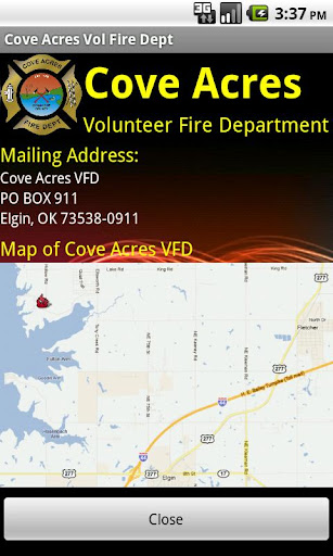 玩教育App|Cove Acres Vol Fire Dept免費|APP試玩