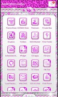 Screenshot of BLING♦Theme Purple Leopard SMS