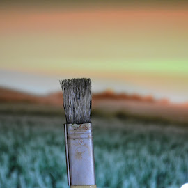Paint Brush by Kaushik Mondal - Novices Only Objects & Still Life ( paint brush, thick brush, coloring brush, brush, painting )