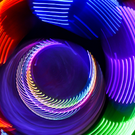 Fixation by Freddie Meagher - Abstract Light Painting ( colors, psychedelic, lamp, trippy, light )