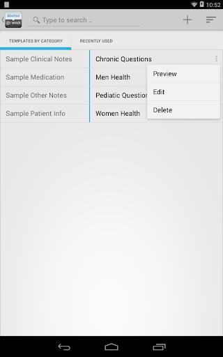 Doctor Patient Medical Records - screenshot