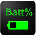 Pourcentage de la batterie icon