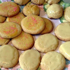 Mean Chef's Lemon Lemon Cookies