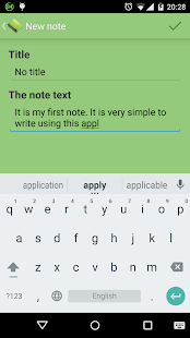 My Easy Notes - screenshot