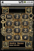Screenshot of Golden Dialer