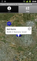 Screenshot of Find a Minyan