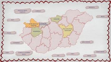 Screenshot of Counties of Hungary