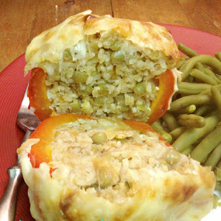 Mujadarah Stuffed Peppers