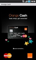 Screenshot of Orange Cash