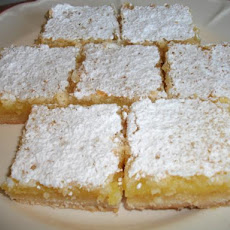 Citrus Bars (From My Great Recipe Cards)