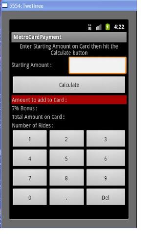 NY MetroCard Pay Calculator