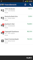 Screenshot of 1822direkt-Banking App
