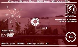 Screenshot of Terminator vision HUD Free