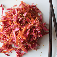 Coleslaw in Chinese-style Dressing