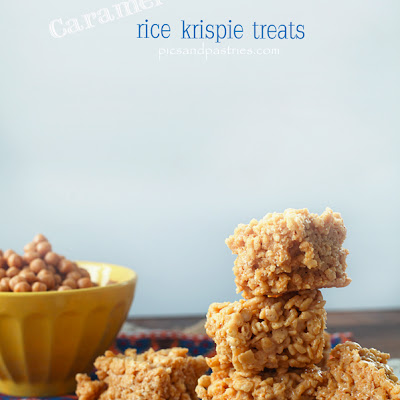 Caramel Rice Krispie Trears