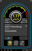 Screenshot of ITERIUM Radioactivity Tester