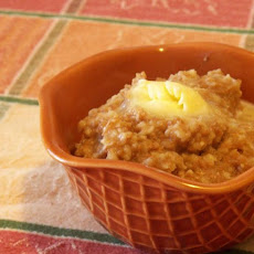 Apple Cider Oatmeal