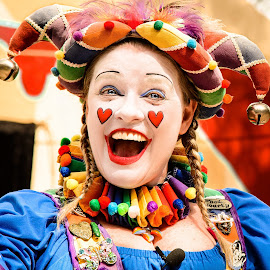 The Happy Jester by Judy Rosanno - People Musicians & Entertainers (  )