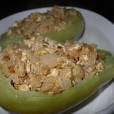 Chayote With Cheese (Stuffed & Baked)