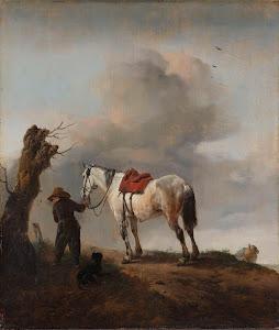 RIJKS: Philips Wouwerman: The Grey Horse 1646