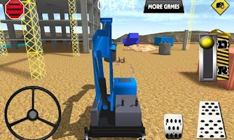 Screenshot of Excavator Construction parking