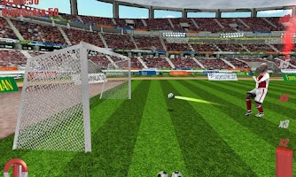 Screenshot of 3D Goal keeper