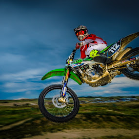 Motocross Madness by Jim Harmer - Sports & Fitness Motorsports ( motocross, action, sports, dirt bike, photography, athlete )