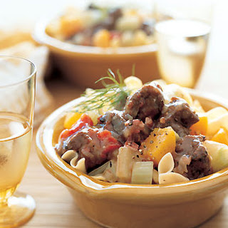 Pork Stew with Fennel and Butternut Squash