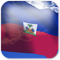3D Haiti Flag icon