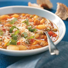 Gnocchi Chicken Minestrone Recipe