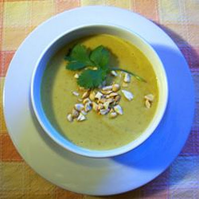 Jennifer's Thai Curried Peanut Soup