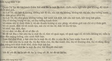 Screenshot of Bat Nha Tam Kinh - Kinh Phat