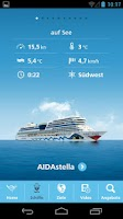 Screenshot of AIDA Cruises