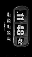Screenshot of 3D Animated Flip Clock BLACK