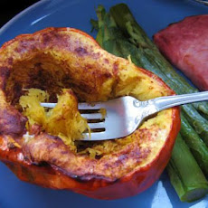 Baked Acorn Squash With Cinnamon