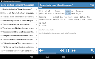 Screenshot of Inglese basico 1