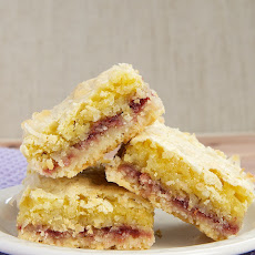 Coconut-Raspberry Bars
