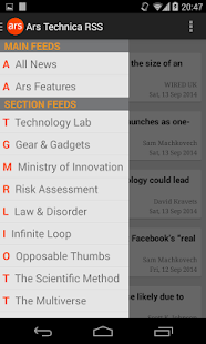 Ars Technica RSS - screenshot