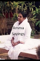 Screenshot of Amma Sayings