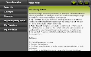 Screenshot of Jobs Gear - Vocabulary Builder