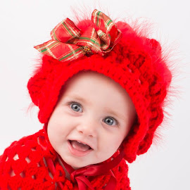 little lady in red by Melissa Thomas - Babies & Children Child Portraits (  )