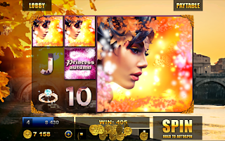 Screenshot of Slots: Princess Autumn