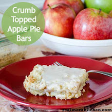 Crumb Topped Apple Pie Bars