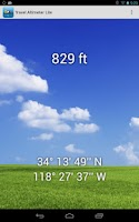 Screenshot of Travel Altimeter Lite