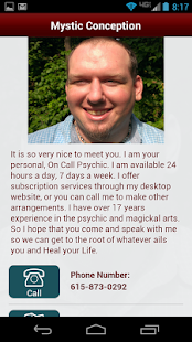 Free Psychic Answer Session - screenshot