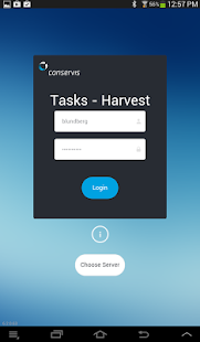 Conservis Tasks - Harvest - screenshot