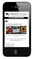 Screenshot of AllState Surveying Mobile