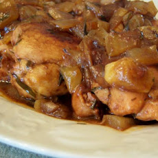 French Chicken in Vinegar Sauce